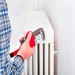 radiator installeren